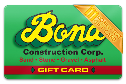 Bond Construction M-Gift Card